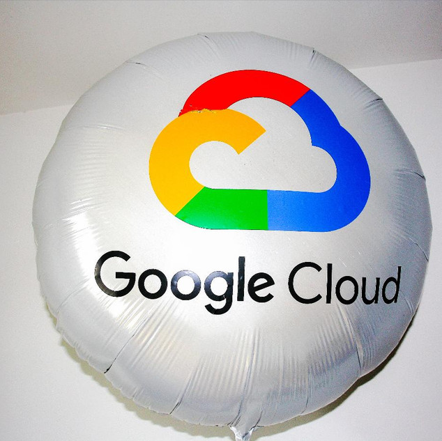 ballon impression logo GOOGLE