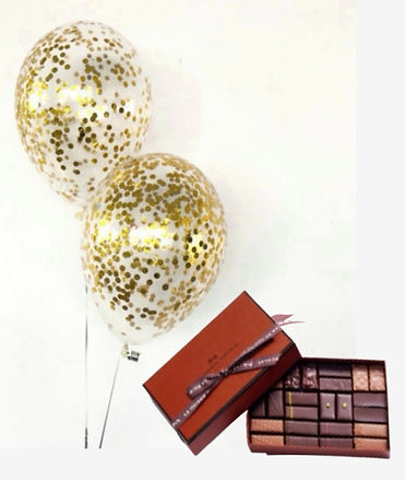 Boxs cadeaux ballon helium