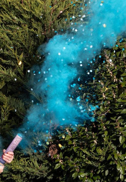 CANON FUMEE  rose ou bleu