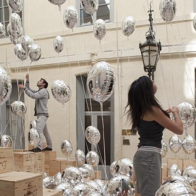decors ballons hélium