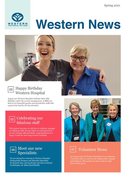 Western Hospital Newsletter - Spring 2021