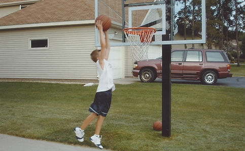 Tom Beason Playing Basketball