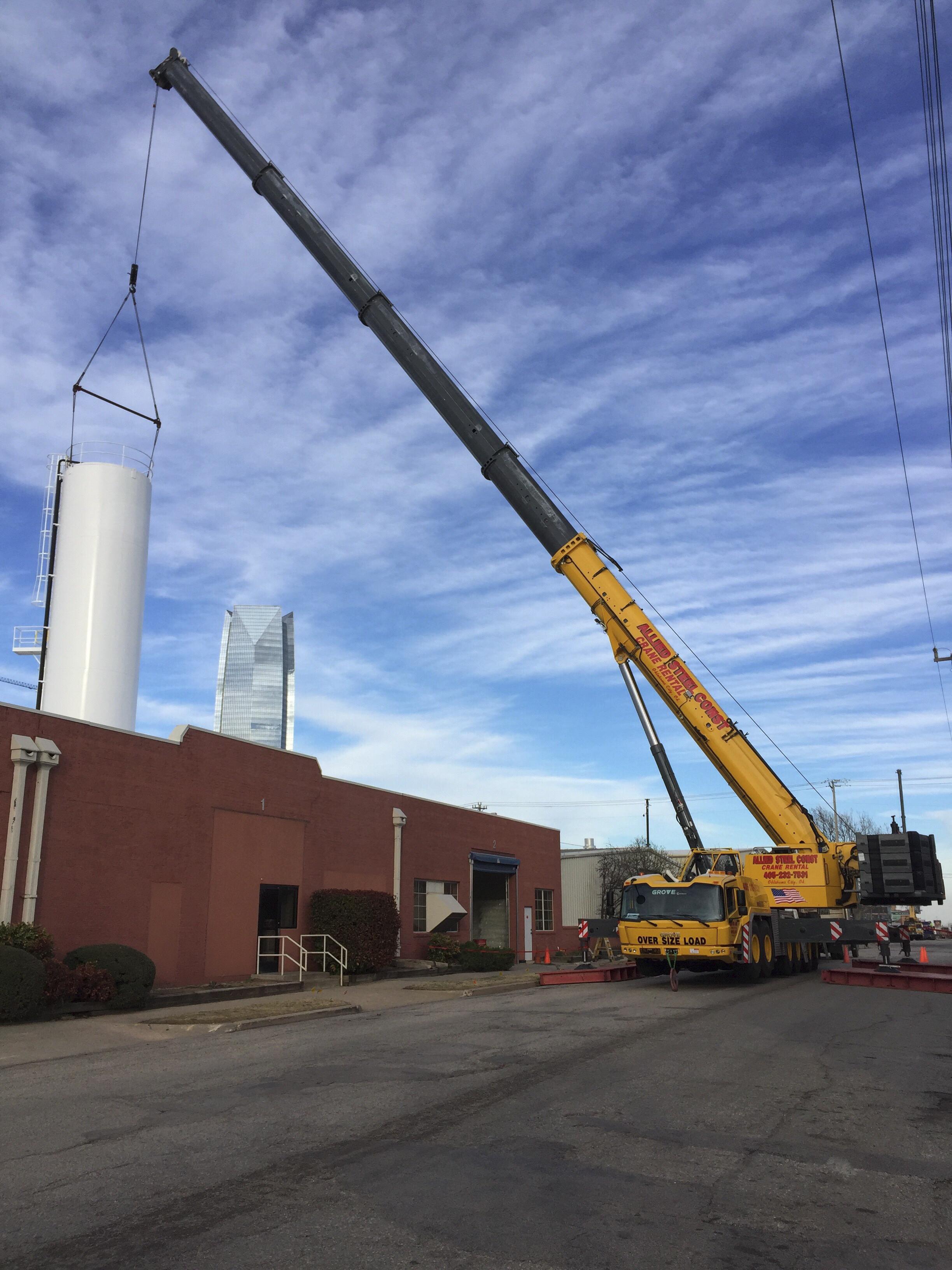 Eureka Water Tower Construction (1)