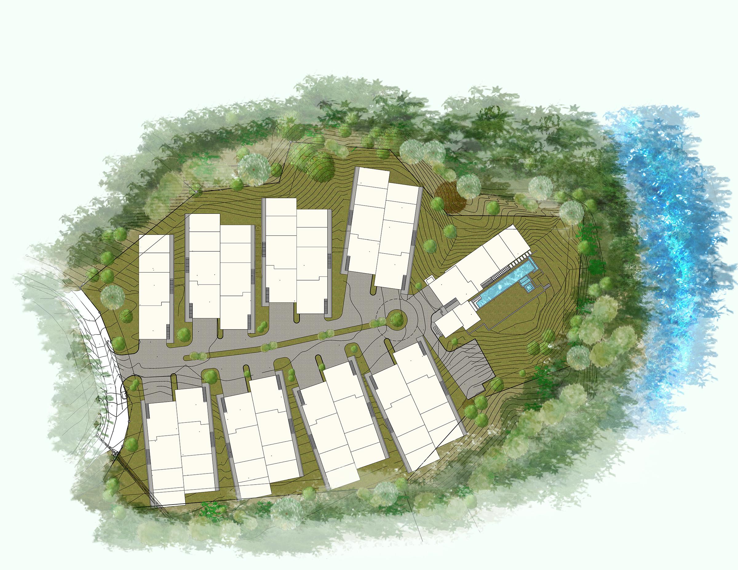 1,200-acre Resort