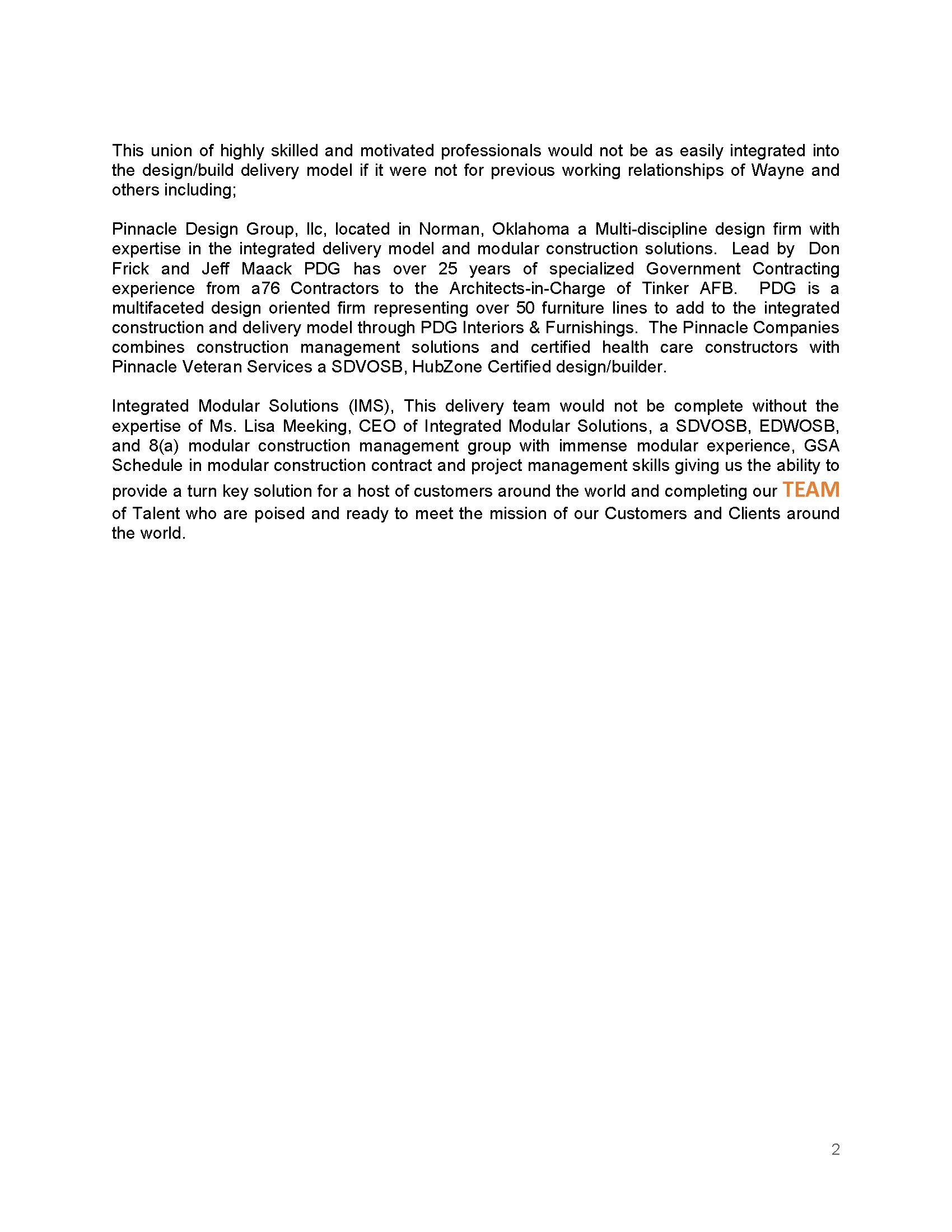 DRG TEAM Release USVI Temp Clinic