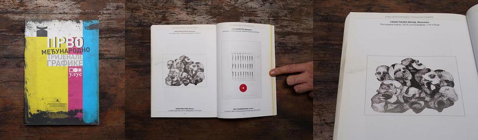 Catálogo de la Trienal Internacional en Serbia (FIRST INTERNATIONAL PRINTIMARKING TRIENNIAL OF ULUS)