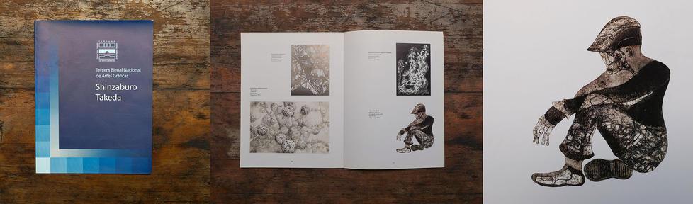 """Catálogo """"III Bienal Nacional de Artes Gráficas Shinzaburo Takeda"""". Oaxaca de Juárez. México"""