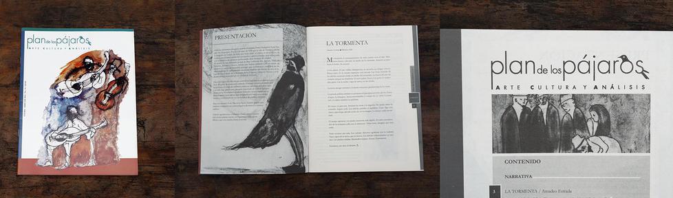 Ilustrador de la revista plan de los pájaros, Arte, Cultura Y análisis