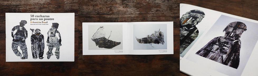 Catálogo, 50 cucharadas, Exposición individual, Galería Ramón Alva de la Canal