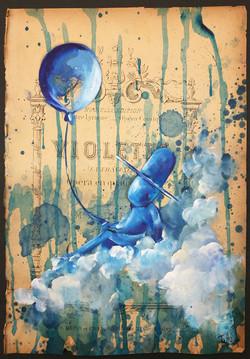 Le ballon bleu 1
