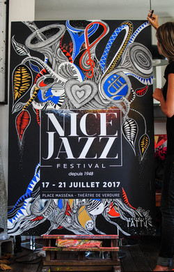 Affiche NICE JAZZ FESTIVAL 2017