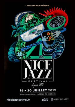 Affiche Nice jazz 2019.