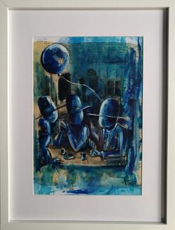Le ballon bleu