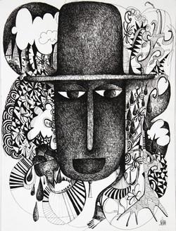 L'homme au chapeau 5