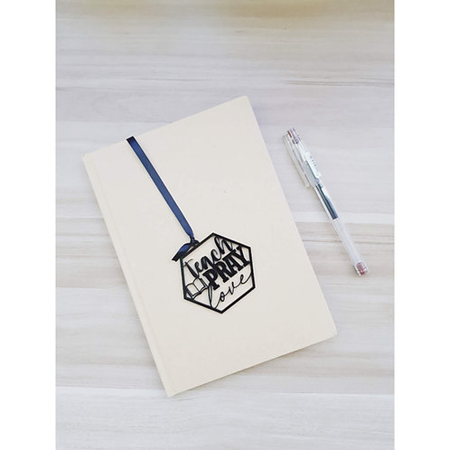 Teach, Pray, Love Bookmark & Notebook