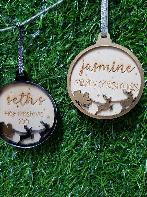 Customised Christmas Ornament