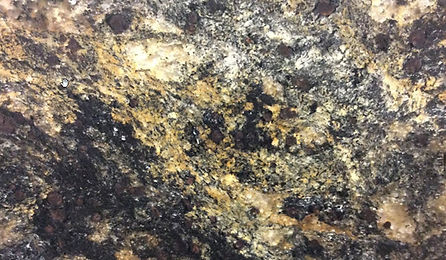 galassia gold leathered granite