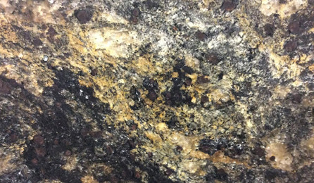 galassia gold leathered granite