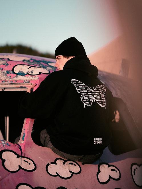 COMFORT ZONE | Black Hoodie