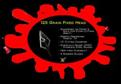 Xecutioner - 125 Grain Fixed