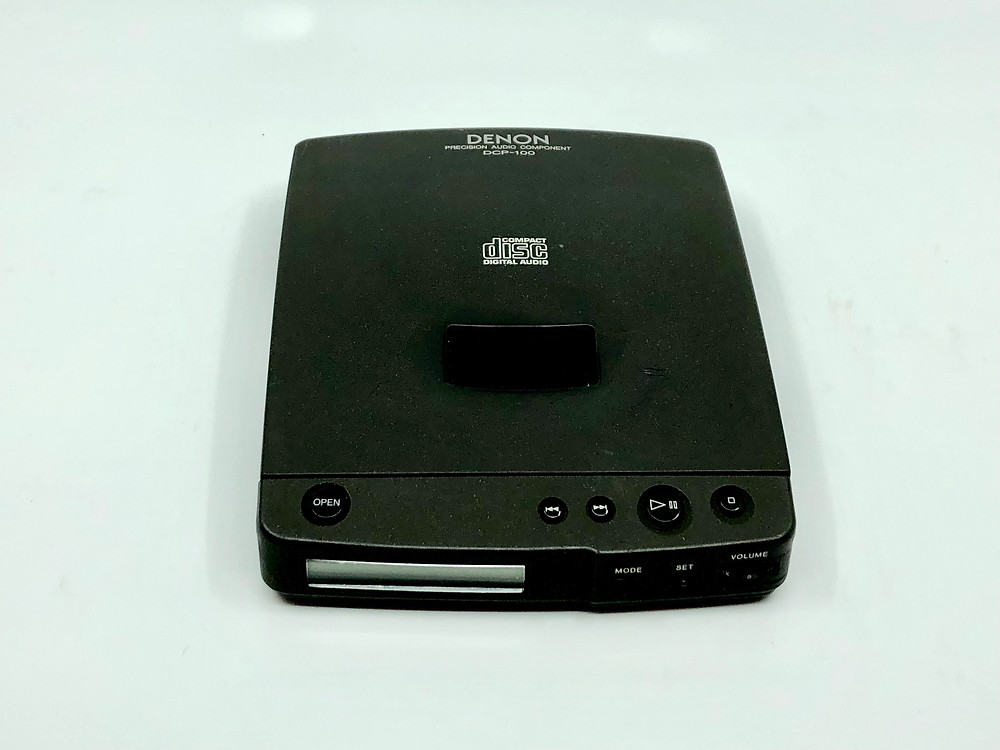 Denon DCP-100 Portable CD Player