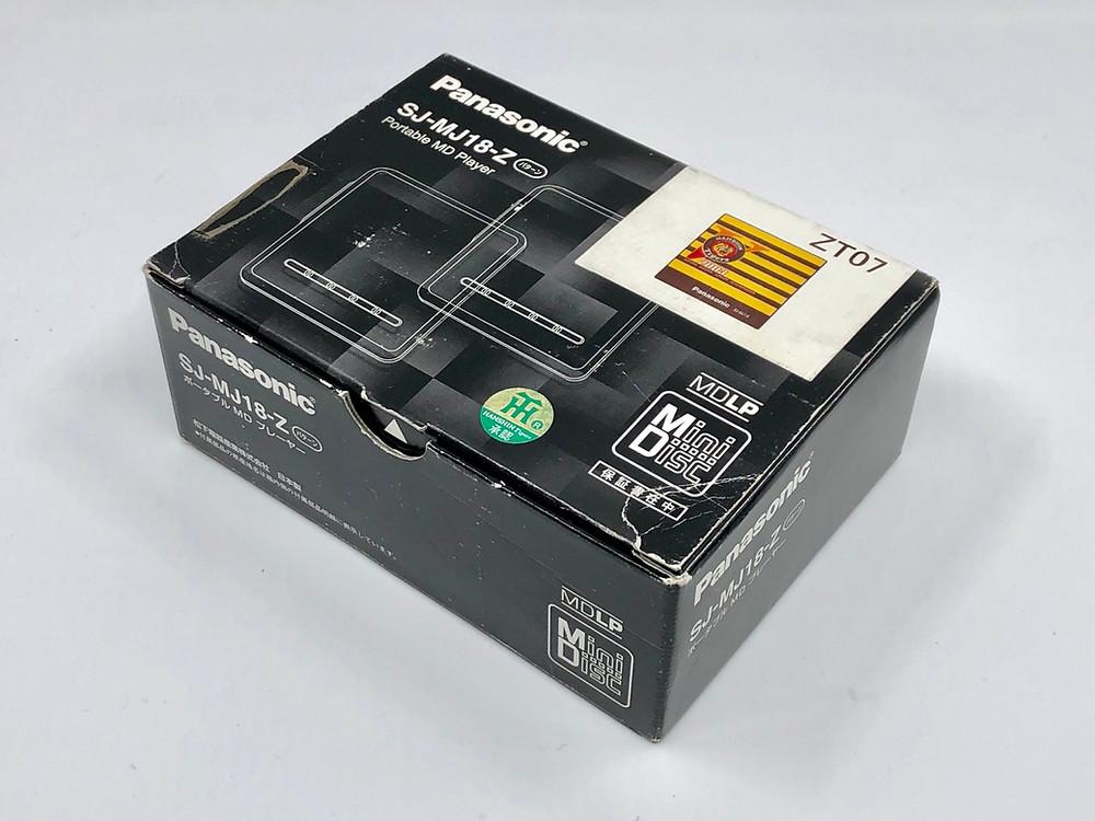 Panasonic SJ-MJ18 Series ZT07 MD Player