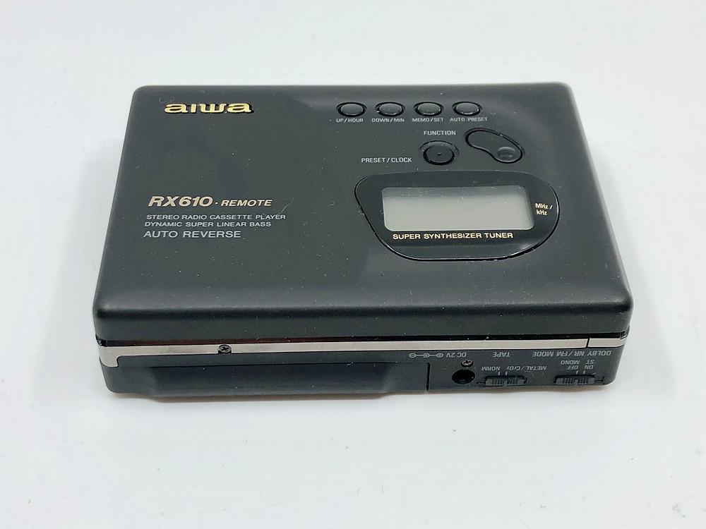 Aiwa HS-R610 Portable Cassette Player