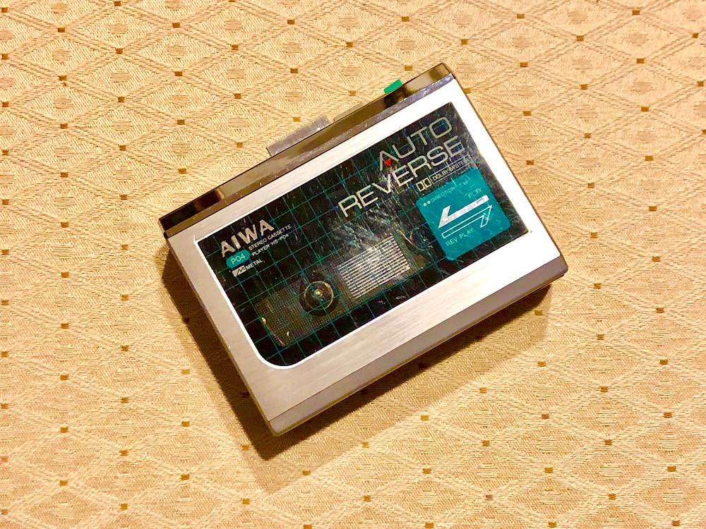 Aiwa HS-P04 Portable Cassette Player