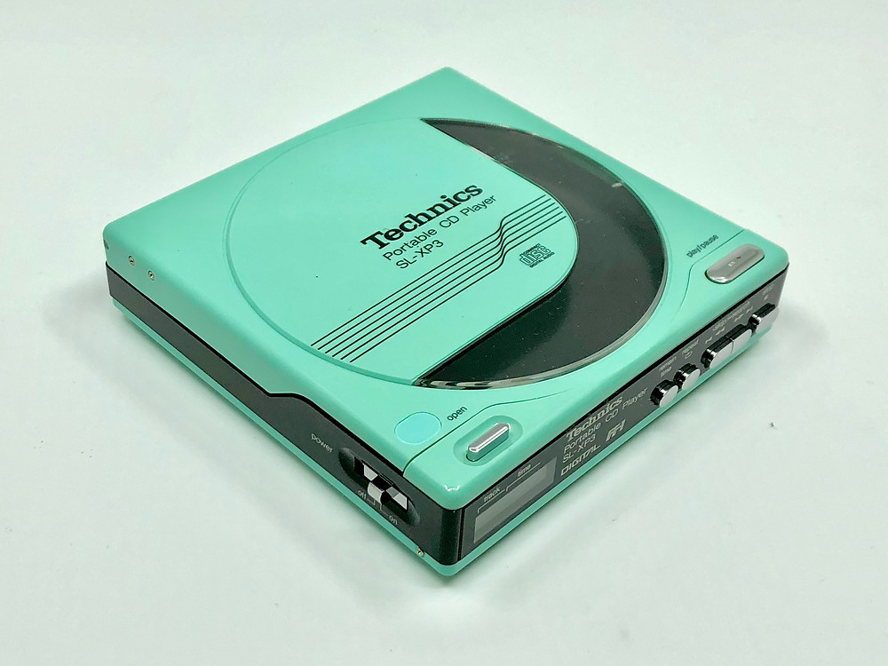 Technics SL-XP3 Blue Portable CD Player
