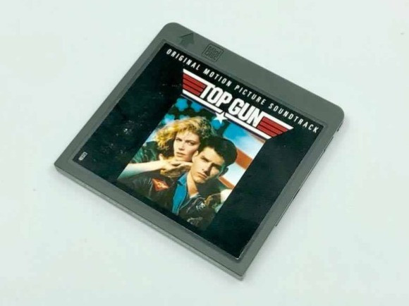 Top Gun original motion picture soundtrack MiniDisc album