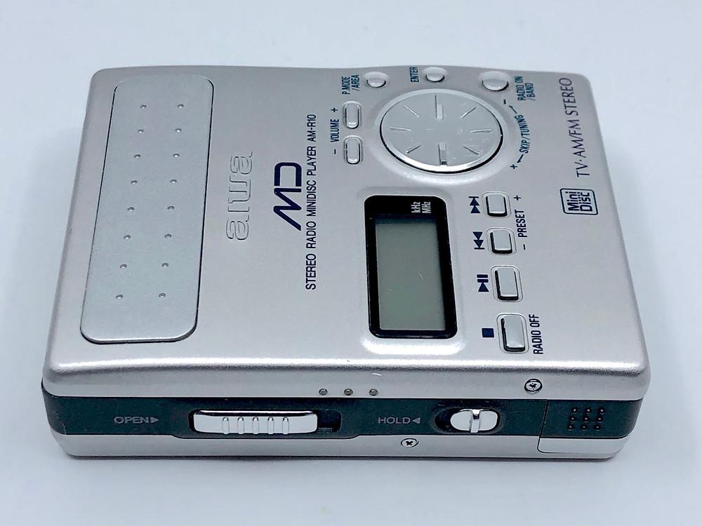 Aiwa AMD-R10 MiniDisc MD Recorder