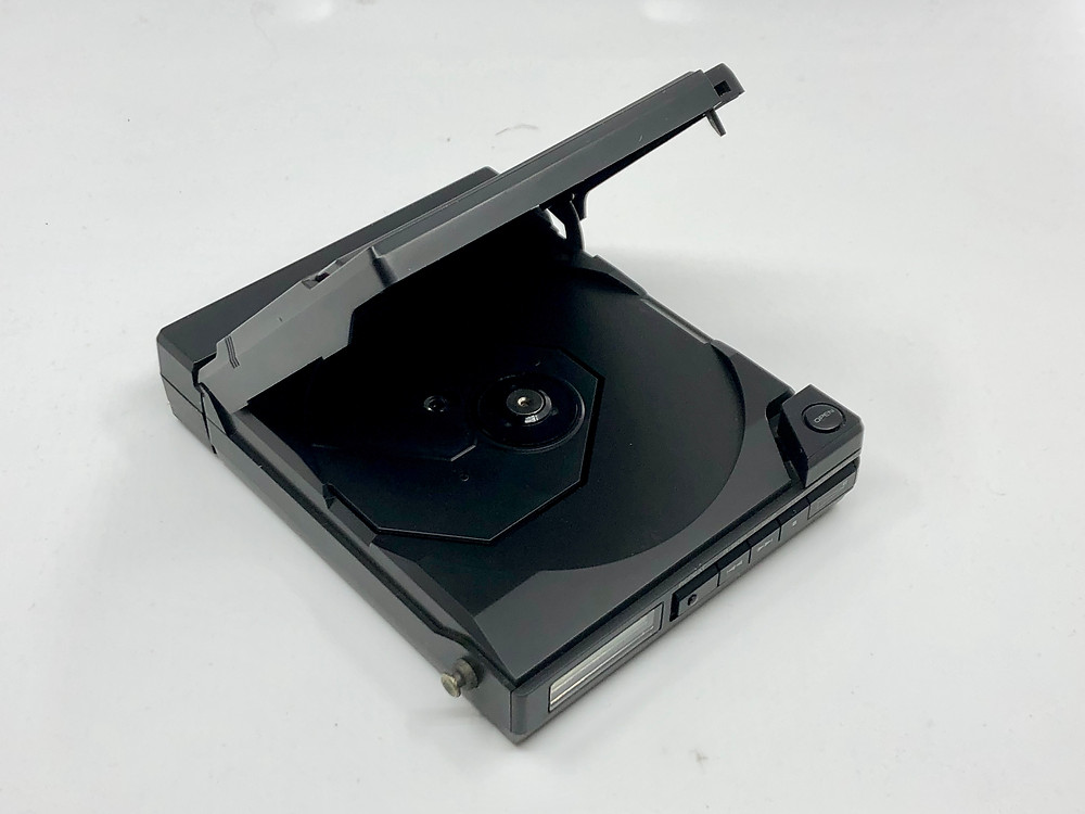 Kenwood DCP-55 Black Portable CD Player