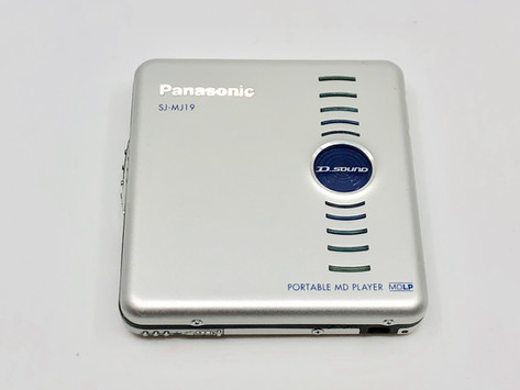 Panasonic SJ-MJ19 MD Player
