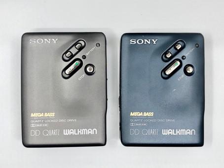 Sony Walkman DD33 Gray and Dark Blue