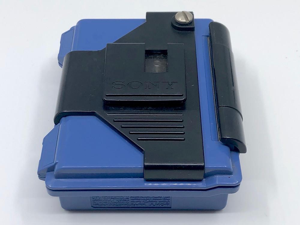 Sony Walkman WM-F5 Blue Weather Proof Portable Cassette Player