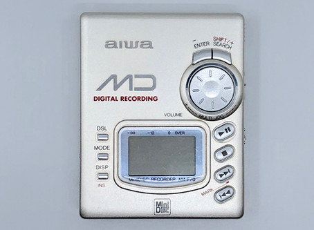 Aiwa AM-F70 Champaign MiniDisc Player