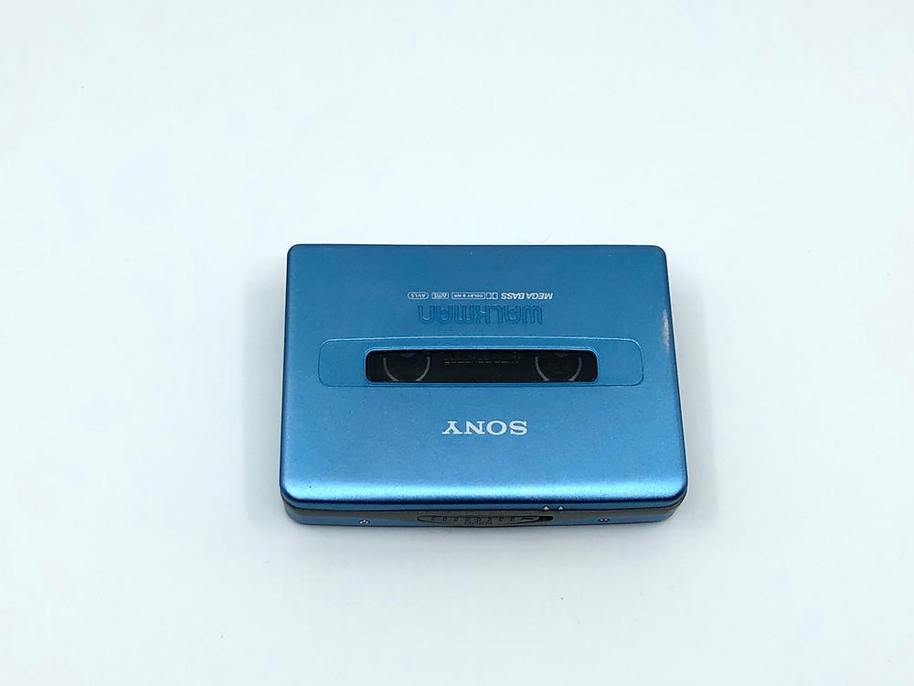 Sony Walkman WM-EX570 Portable Cassette Player Blue