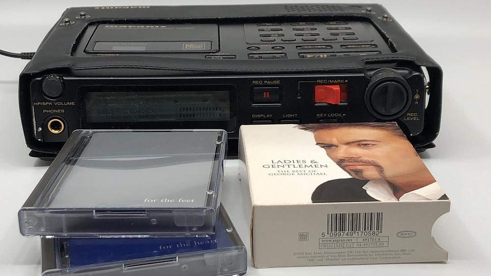 Marantz PMD650 Professional MD MiniDisc Recorder