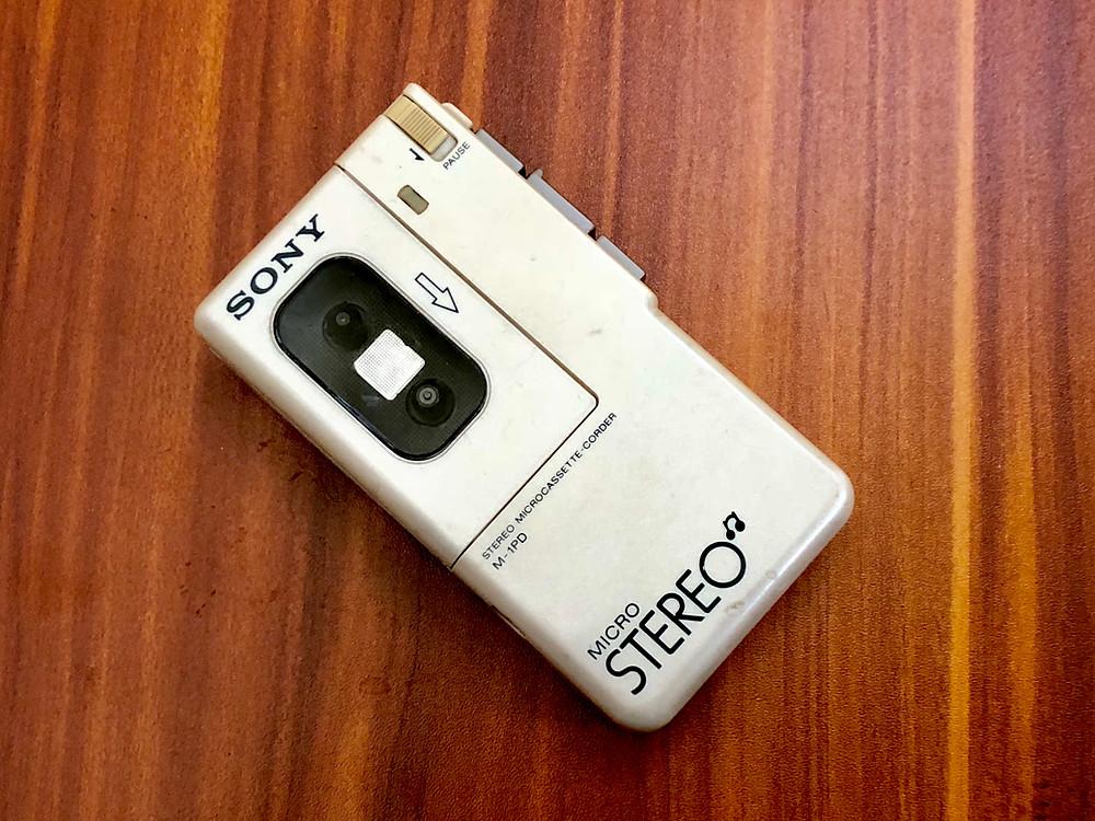 Sony M1-PD Micro-Cassette Recorder