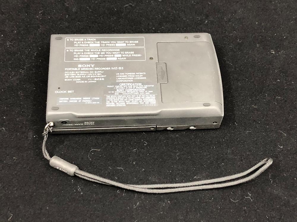 Sony MZ-B3 MD Recorder