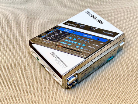 Aiwa HS-UV9 CassetteBoy White Portable Cassette Player