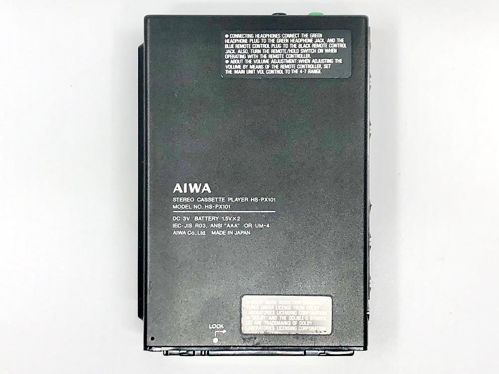 Aiwa HS-PX101 HS-PX10 Portable Cassette Player