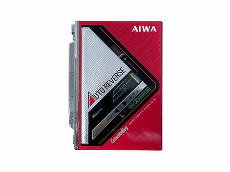 Aiwa HS-P9 CassetteBoy Portable Cassette Player Red