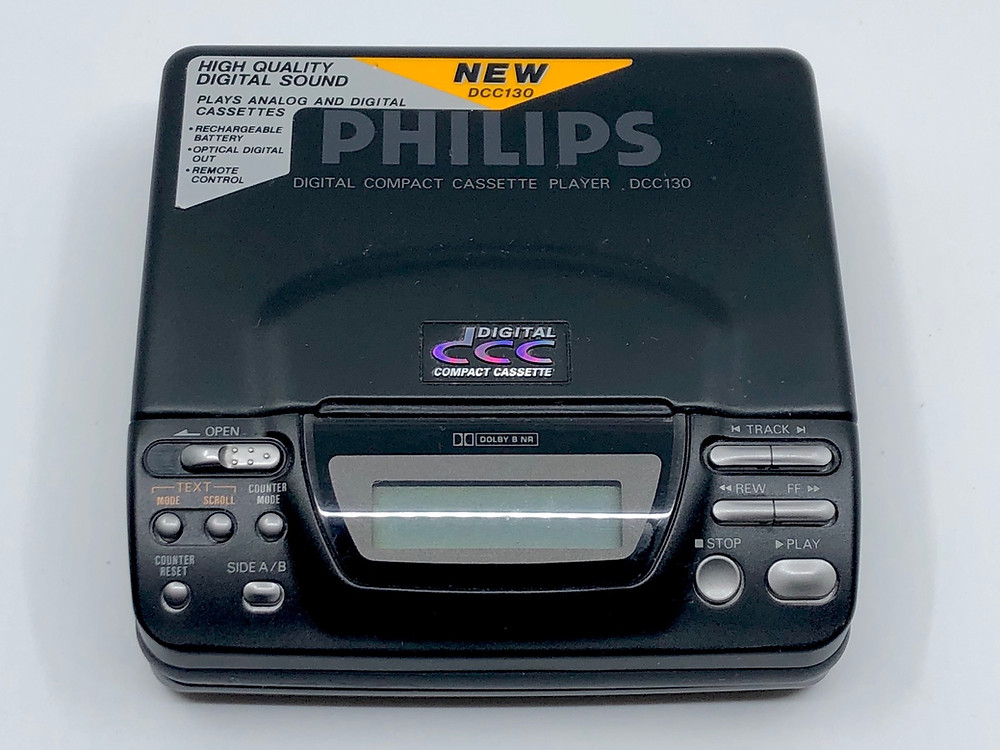 Philips DCC130 Digital Compact Cassette Player