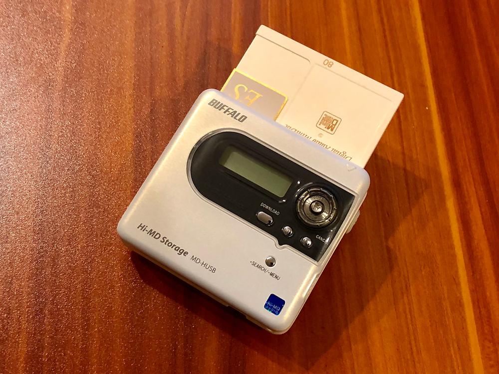 Buffalo MDH-USB Hi-MD Recorder