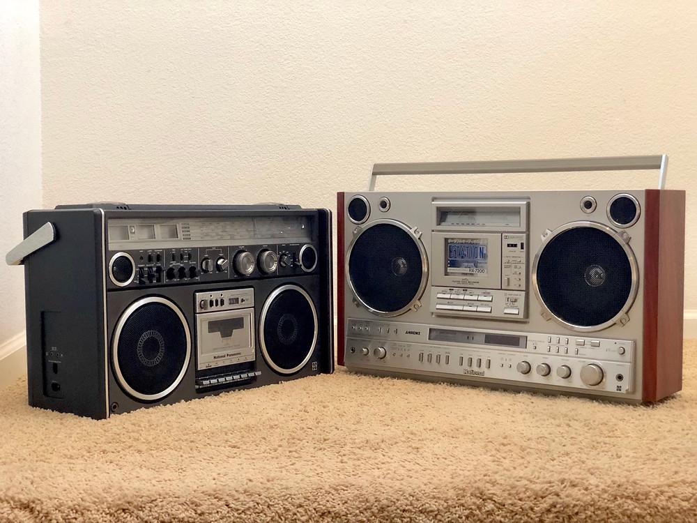 National Panasonic RX-7700 Radio Cassette Recorder