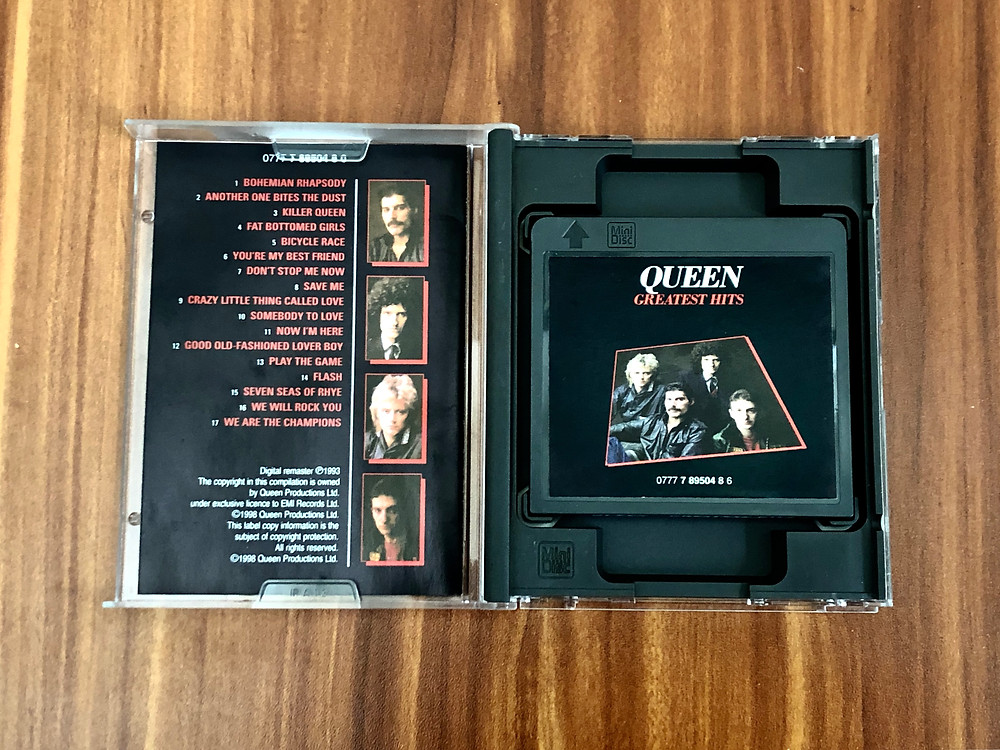 Queen Greatest Hits MiniDisc Album