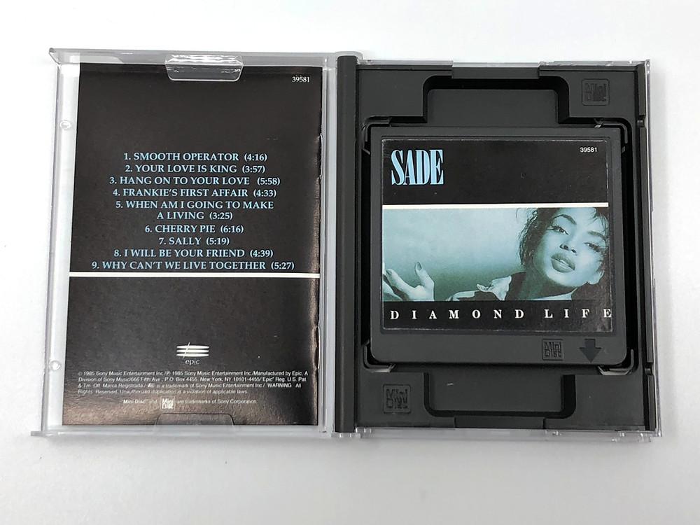 Sade - Diamond Life MiniDisc Album