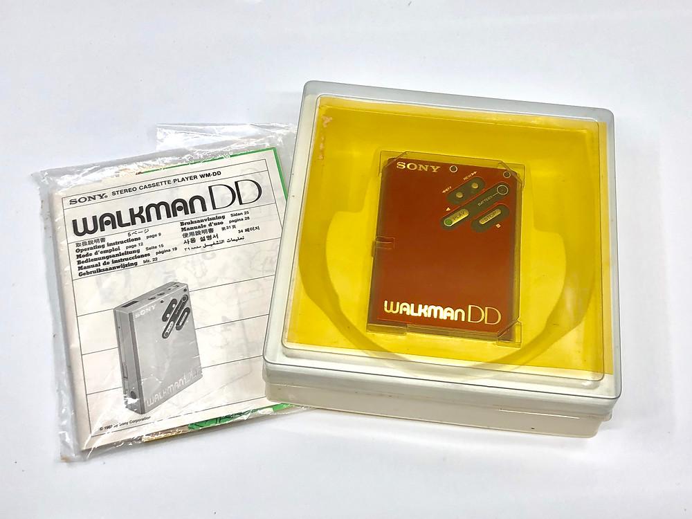 Sony Walkman WM-DD Red Portable Cassette Player