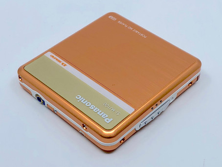 Panasonic SJ-MJ100 Portable MiniDisc Player